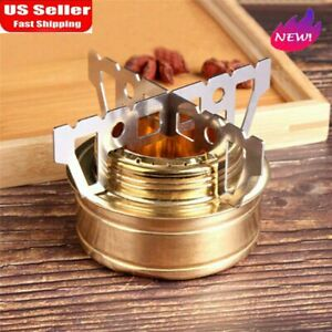 Outdoor Camping Alcohol Stove Stent Pot Trangia Burner Bracket Holder W Cross U
