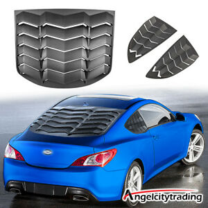 Side Rear Window Louvers Sun Shade Cover For Hyundai Genesis Coupe 2010 2016