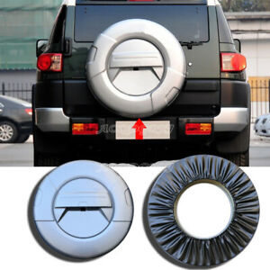Spare Tire Cover Hard Shell Kit Fit For Toyota Fj Cruiser 2007 2020