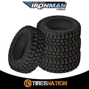 4 New Ironman All Country M T 235 80 17 120 117q Mud Terrain Tire