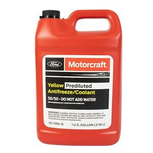 Motorcraft Vc13dlg Gallon Yellow Engine Coolant Antifreeze For Ford Lincoln