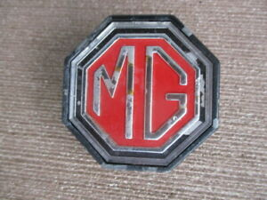 Vintage Mg Grill Emblem 1 Mount Bolt Mga Or Mgb Year Unknown Man Cave