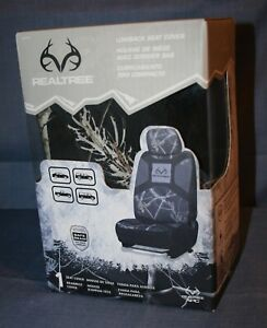 1 Realtree Camo Low Back Seat Cover With Adjustable Headrest Rsc7014