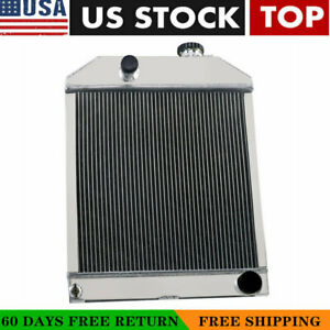 C7nn8005h 3 Row Aluminum Radiator For Ford new Holland 2000 2600 3000 3600 New