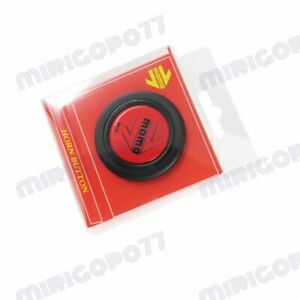 Sport Competition Tuning 59mm Momo Black Red Steering Wheel Horn Button