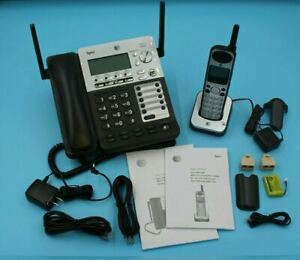 At t Sb67138 Synj Expandable 4 line Corded cordless Small Business Phone