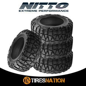 4 New Nitto Mud Grappler X Terra 33 12 5 17 120q Mud Terrain Tire