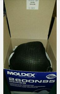 Moldex Black 2600 Box 15 SPECIAL OPS SIZE M L USA Made Face Cover New $94.00