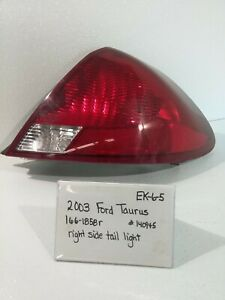 Used 2003 Ford Taurus left Tail Light drivers Quality
