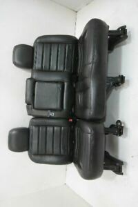 2003 2009 Hummer H2 Rear Seat Leather 60 40 Black
