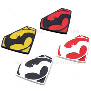 Universal 3d Fashion Metal Batman Car Decal Sticker For Auto Decoration
