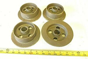 4 Mining Ore Car Small Track Mine Cart Wheel Cast Iron 5 1 2 Dia
