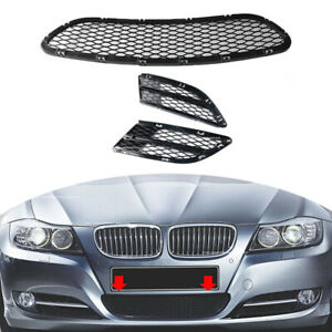 Fit For Bmw 3 Series E90 E91 325i 328i 335i Front Lower Bumper Grille Grill New