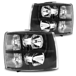 Fit For 03 07 Chevy Silverado 1500 2500 3500 Headlights turn Signals Car Parts