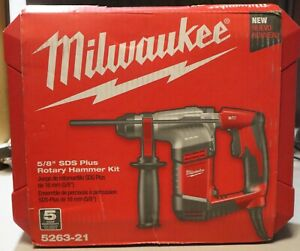 Milwaukee 5263 21 5 8 Sds Rotary Hammer Kit