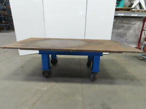 H d 1 Thick Top Steel Fabrication Layout Welding Table Work Bench 61 x121