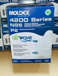 Moldex 4200 M l Airwave Box 10 Factory Sealed Brand New Exp Date 01 20230