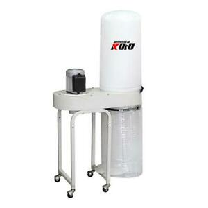 Vertical Bag Dust Collector Single Stage Power Tool 2 Hp 1550 Cfm 1 Phase 220v