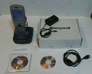 Honeywell Dolphin 9550 Mobile Handheld Computer Scanner Docking Station And Soft