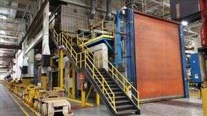 H m White Paint Booth System B41016