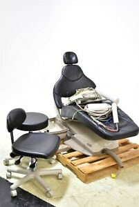 Midmark Elevance Dental Exam Chair Operatory Set up Caregiving Furniture