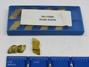 Kennametal Ng 3156r Top Notch Grooving Carbide Inserts Grade Kc810