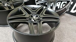 22 Inch Mercedes Staggered Rims Wheels New Set4 Fits Ml Gl Class