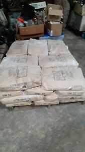 1000 Lbs Of Pluess Staufer Calcium Carbonate 50 Lb Bags Derived Fr Limestone