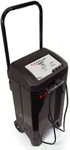 Automatic Wheeled Battery Charger Trickle Car Engine Starter 6 2 40 200 Amp New