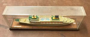 Vintage Ss Oceanic Ocean Liner 1965 Scale Cruise Ship Model Home Lines Boat