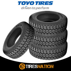 4 New Toyo M 55 Lt265 70r17 10 121 118q Tires