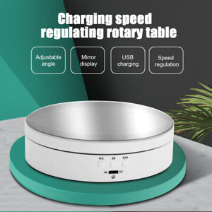 Rotating Display Stand Motorized Turntable Shop 360 Degree Revolving Platform