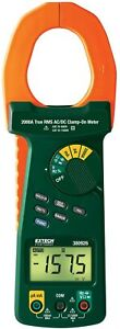New In Box Extech 380926 True Rms 2000a Ac dc Clamp Meter Msrp 289