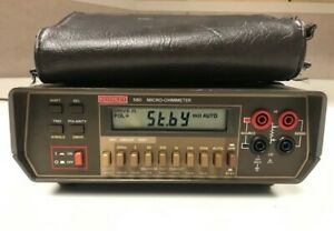Keithley 580 Micro ohmmeter With Calibration