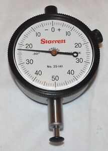 Starrett Dial Indicator Model 25 141j new