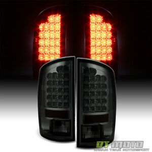 Smoke 2007 2008 Dodge Ram 1500 2500 3500 Lumileds Led Tail Lights Set Left right