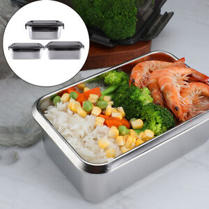 Stainless Steel Thermal Insulated Food Preservation Lunch Box Storage Container