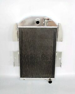Aluminum Radiator Fit 1935 1936 Chevy Master Deluxe Truck Pickup Ea Ed 3436ch