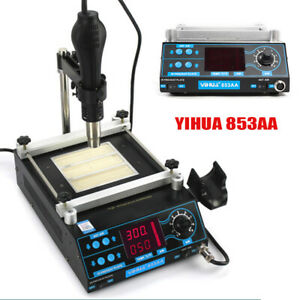 853a 853aaa Bga Infrared Rework Handheld Hot Plate Preheat Preheating Station
