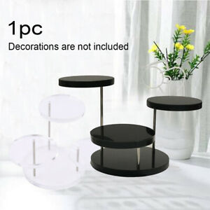3 Layers Home Bracelet Stand Acrylic Holder Earring Ring Dresser Jewelry Display