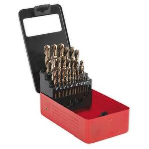 Boxed Cobolt Drill Set 25 Piece Metric 1mm 13mm