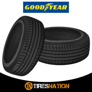 2 New Goodyear Efficient Grip 255 40 18 95y All Season Tires