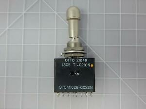 Otto St5m1628 0022n 5930 01 176 5607 Toggle Switch Paddle Switch For Aircraft