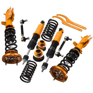 Coilovers Kit For Ford Mustang 2005 2014 Adj Height Mounts Struts W z Sway Bar