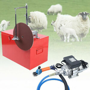Electric Clippers Sheep Goat Hair Trimmer 360 Rotate Animal Shaver Groom Shears