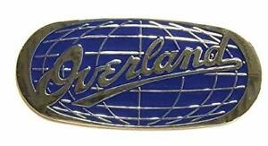 New Blue For Jeep Grand Cherokee Overland Emblem Decal Nameplate Badge