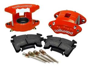 Wilwood 140 12097 R D154 Front Caliper Kit Red
