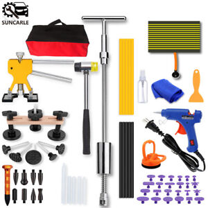 Paintless Dent Repair Hail Damage Slide Hammer Removal Kit Dent Puller Lifter