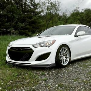 For 2013 2016 Hyundai Genesis Coupe Matt Black Ks Style Front Bumper Body Lip