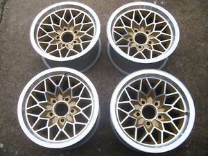 Ws6 Gold Trans Am 15x8 Snowflake Pontiac Wheels 4